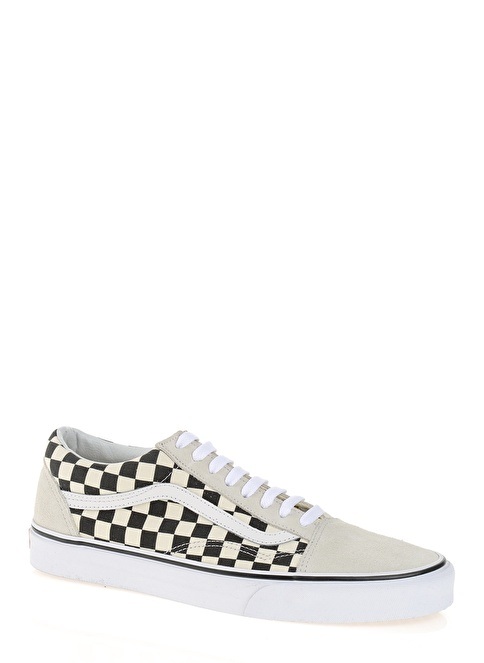 bf825f6667057f Vans Erkek Old Skool (Checkerboard) White Black